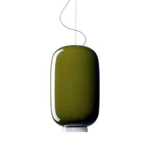 Lampada a Sospensione Chouchin 2 SP Verde Foscarini Ionna Vautrin 1