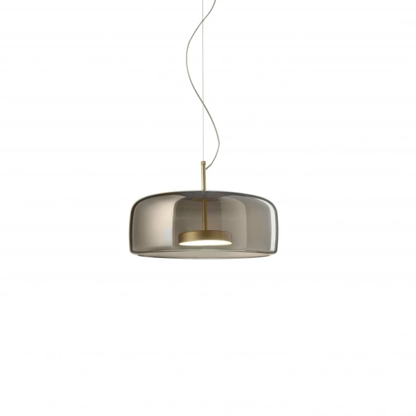 Suspension Lamp Jube SP 1 L LED Fumè Vistosi Favaretto & Partners 1