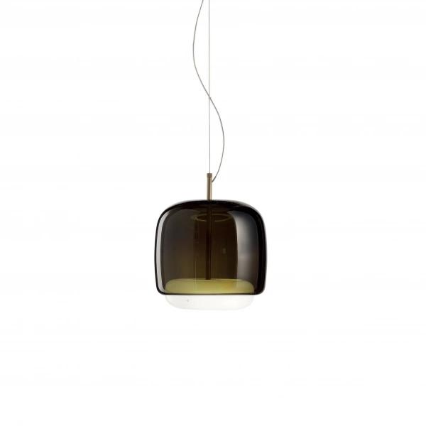 Lâmpada de suspensão Jube SP S LED marrom Vistosi Favaretto & Partners 1