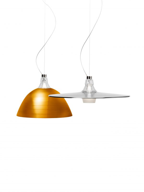 Suspension de Bell Aluminium Diesel avec Foscarini Diesel Creative Team 2