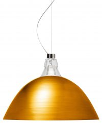 Lámpara de suspensión de Bell Diesel de bronce con Foscarini Diesel equipo creativo 1