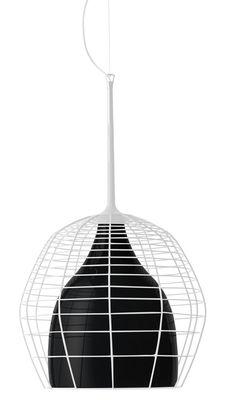Lampada a sospensione Cage - Ø 34 Bianco|Nero Diesel with Foscarini Diesel Creative Team 1