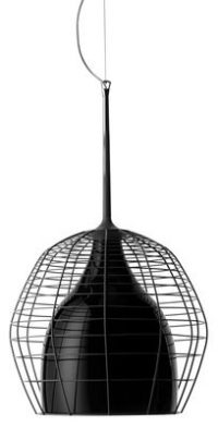 Pendant lamp Cage - Ø 46 cm Black Diesel with Foscarini Diesel Creative Team 1