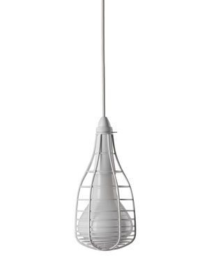 Pendant Lamp Cage Mic White Diesel with Foscarini Diesel Creative Team 1