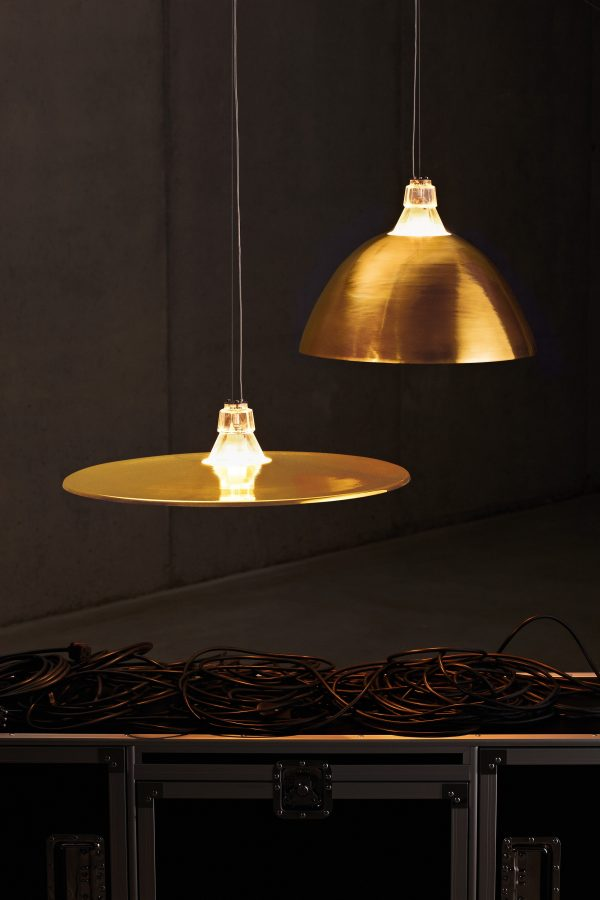 Chandelier Crash Bronze Diesel with Foscarini Diesel Creative Team 2