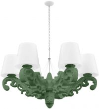 Suspension Crown of Love Vert Malva Slide Moropigatti 1