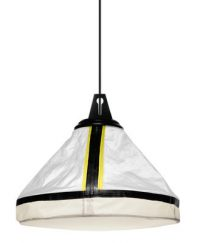 hanging lamp Drumbox White | Yellow fluo Diesel with Foscarini Diesel Creative Team 1