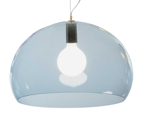 サスペンションランプFL / Y-Ø52 cmライトブルーKartell Ferruccio Laviani 1