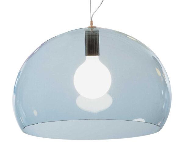 Lampada a sospensione FL/Y - Ø 52 cm Azzurro Kartell Ferruccio Laviani 1