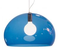 Lámpara de suspensión FL / Y - Ø 52 cm Kartell Blue Ferruccio Laviani 1