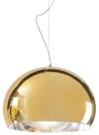 Lampada a sospensione FL/Y - Ø 52 cm Metallizzata Oro Kartell Ferruccio Laviani 1