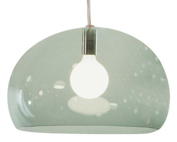 Lámpara colgante FL / Y - Ø 52 cm Verde claro Kartell Ferruccio Laviani 1