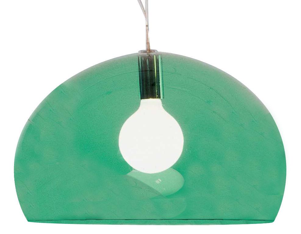 Lámpara de suspensión FL / Y - Ø 52 cm Verde oscuro Kartell Ferruccio Laviani 1