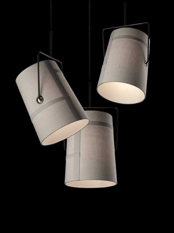 Hanging lamp small Fork Gray Diesel with Foscarini Diesel Creative Team 3