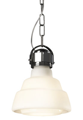 hanging lamp Glas / Ø 22 cm White | Chrome Diesel with Foscarini Diesel Creative Team 1