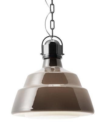 吊りランプグラス - Ø41センチブラウン|フォスカリーニディーゼルクリエイティブチーム1を使ってChromeディーゼル