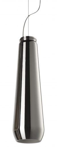 luminária pendente de vidro cair Chrome Diesel com Foscarini Diesel Equipe Criativa 1