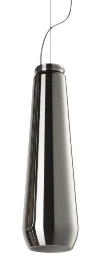 Lampada a sospensione Glass drop Cromato Diesel with Foscarini Diesel Creative Team 1