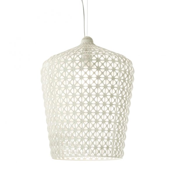 Kabuki Suspension Lamp White Kartell Ferruccio Laviani 1