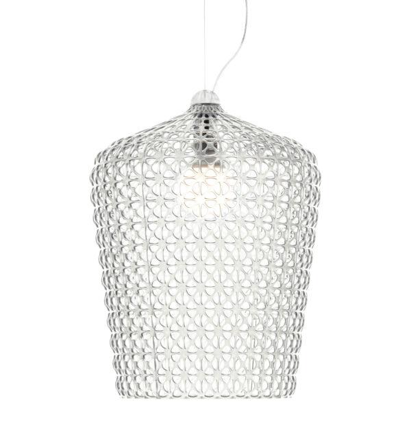 Kabuki Transparent Lámpara de suspensión Kartell Ferruccio Laviani 1