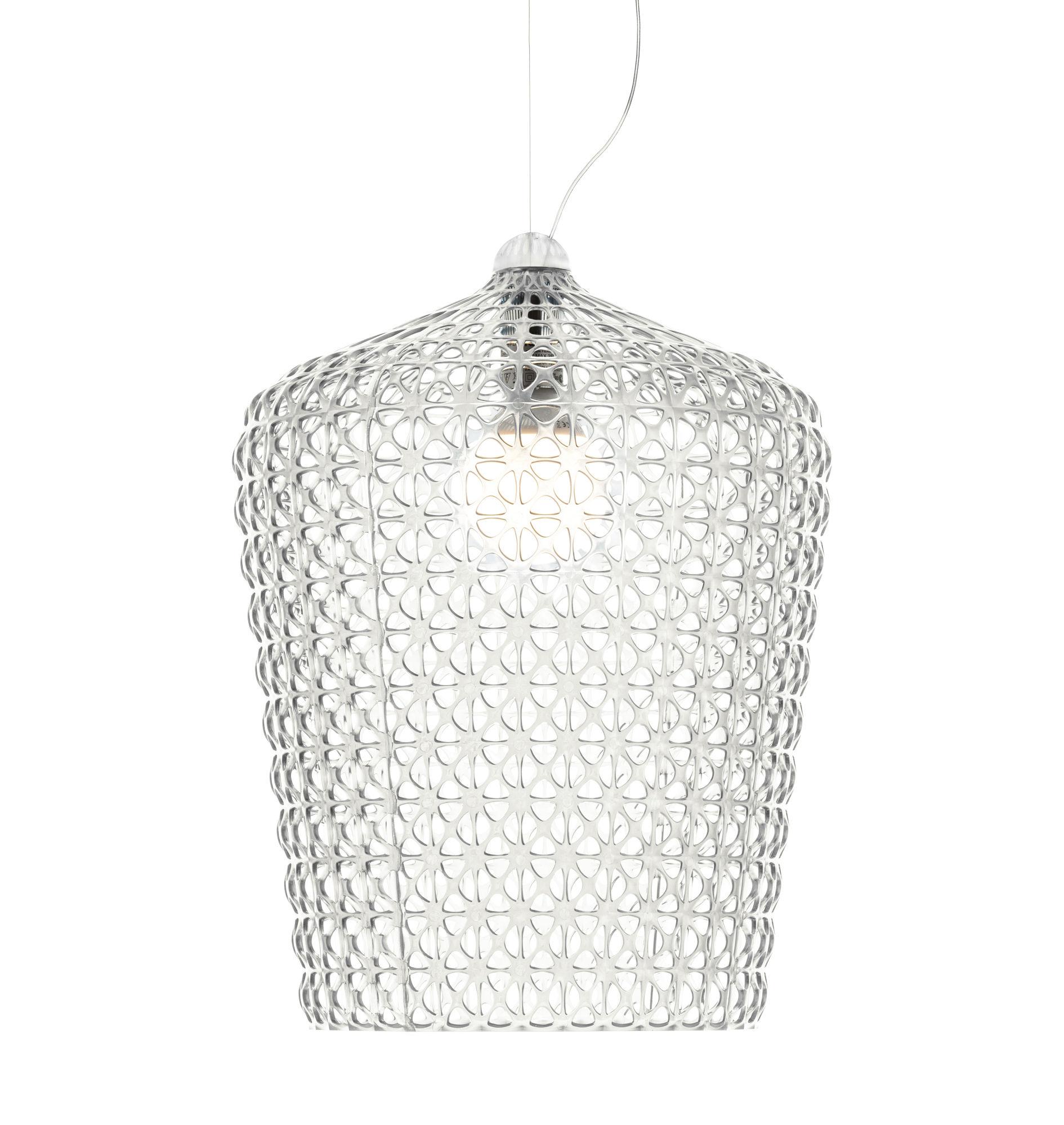 Kabuki Transparent Suspension Lamp Kartell Ferruccio Laviani 1