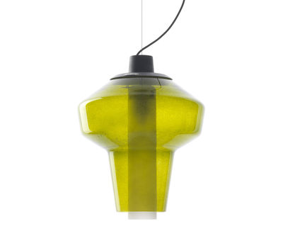 Hanging lamp Metal Glass 2 Verde Diesel with Foscarini Diesel Creative Team 1