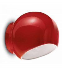 Ayrton C2553 Red Ferroluce Wall Lamp 1