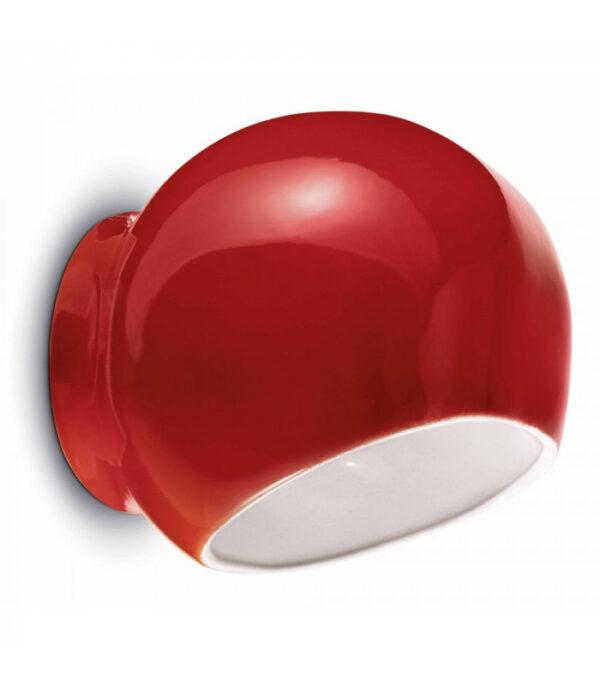 Ayrton C2553 Rote Ferroluce Wandleuchte 1