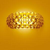 Caboche AP M Abajur em ouro Foscarini Patricia Urquiola | Eliana Gerotto 1
