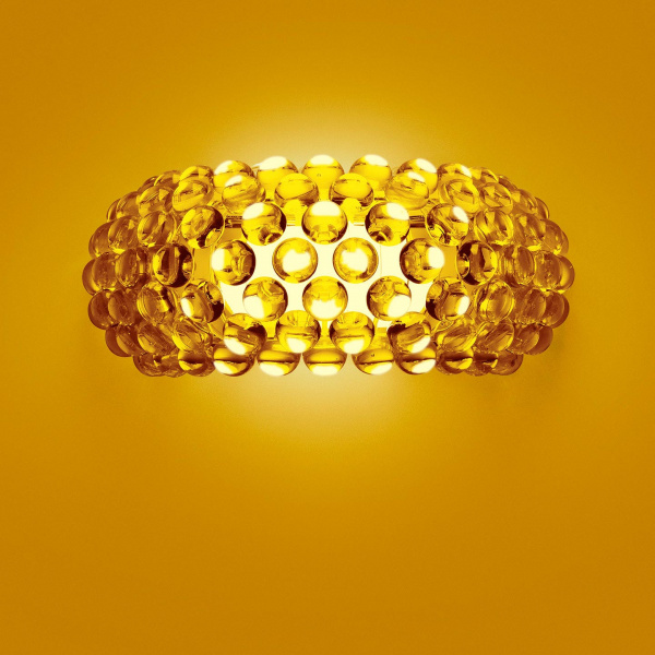 Caboche AP M Gold Wandleuchte Foscarini Patricia Urquiola | Eliana Gerotto 1