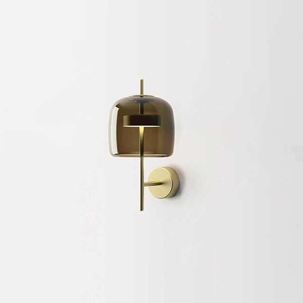 Lámpara de pared LED marrón Jube AP Vistosi Favaretto & Partners 1