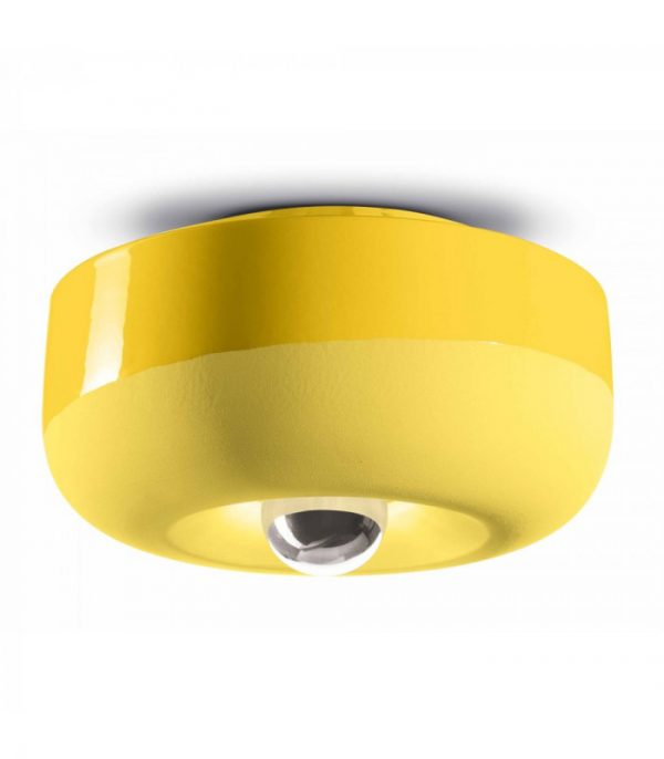 Ceiling Lamp Bellota C2542 Lemon Yellow Ferroluce 1