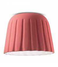 Ceiling Lamp Madame Gres C2573 Coral Pink Ferroluce 1