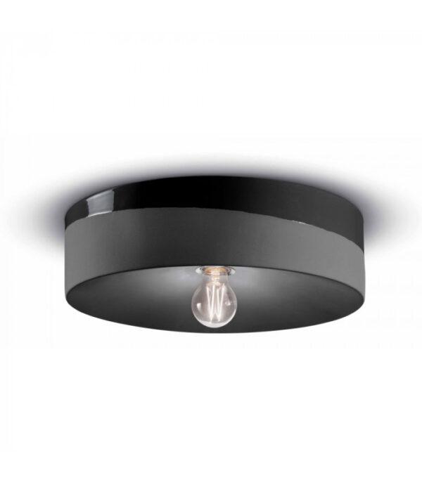 Lámpara de techo PI C1792 Carbon Black Ferroluce 1