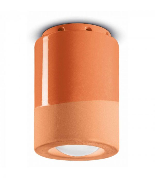 Lámpara de techo PI C985 Orange Peach Ironlight 1