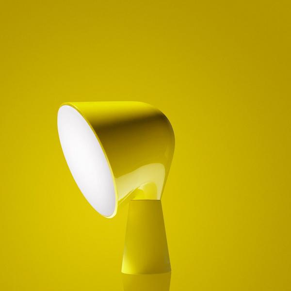 Candeeiro de mesa amarelo Binic Foscarini Ionna Vautrin 1