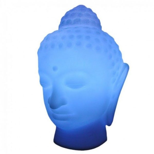 Blue Buddha Table Lamp Slide SLIDE Studio 1