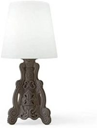 Lady of Love Gray Table Lamp Slide Moropigatti 1