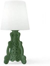 Table Lamp Lady of Love Green Malva Slide Moropigatti 1