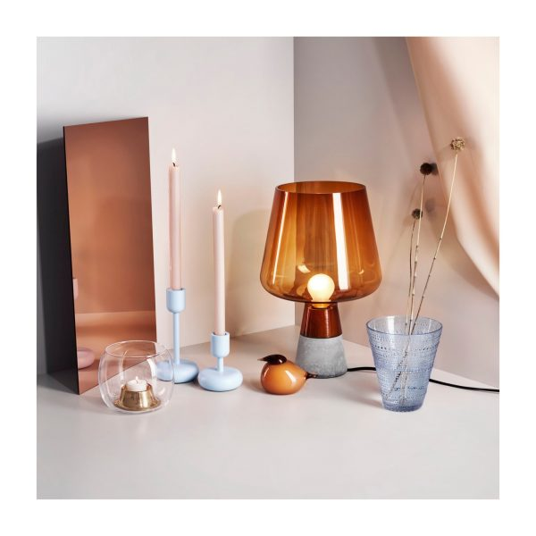 Leimu Table Lamp H 300 mm Copper | Cement Iittala Magnus Pettersen 2
