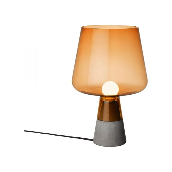 Leimu Table Lamp H 300 mm Copper | Cement Iittala Magnus Pettersen 1