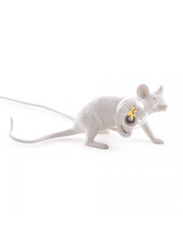 マウスライダウンテーブルランプ#3白の細長いミッキーマウスSeletti Marcantonio Raimondi Malerba