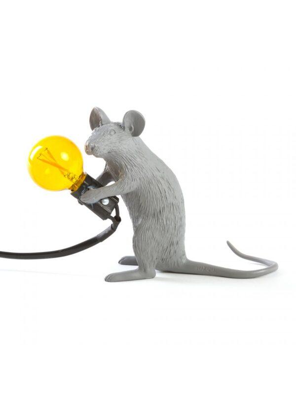 Ποντίκι Πίνακας Λάμπα # 2 - Καθιστικό Ποντίκι Γκρι Seletti Marcantonio Raimondi Malerba