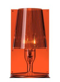 Lampe de table Take Amber Kartell Ferruccio Laviani 1