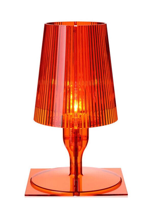 Lampe de table Take Orange Kartell Ferruccio Laviani 2