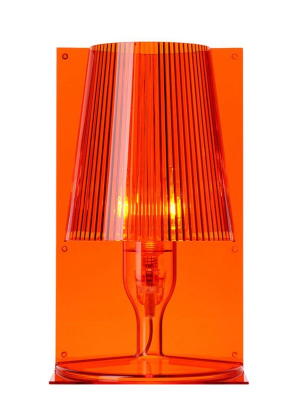 Lampe de table Take Orange Kartell Ferruccio Laviani 1