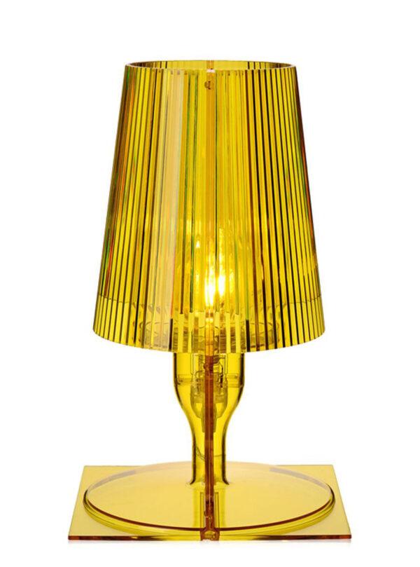 Nehmen Sie die gelbe Tischlampe Kartell Ferruccio Laviani 2