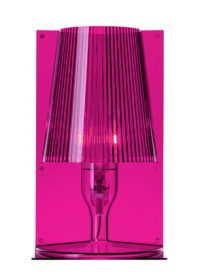 Lampe de table Take rose fuchsia Kartell Ferruccio Laviani 1