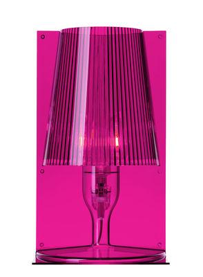 Lampe de table Take rose fuchsia Kartell Ferruccio Laviani 1