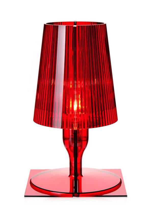 Take Red Table Lamp Kartell Ferruccio Laviani 2